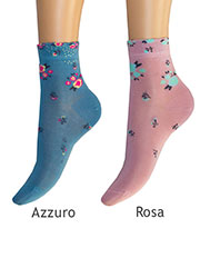 Levante Michela Ditsy Floral Socks Zoom 3