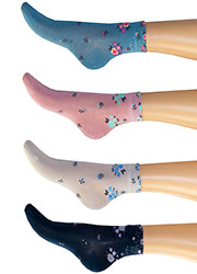 Levante Michela Ditsy Floral Socks Zoom 1