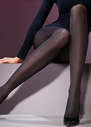 Levante Luxury Satin 60 Denier Smooth Opaque Tights Zoom 2