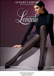 Levante Luxury Satin 60 Denier Smooth Opaque Tights Zoom 1