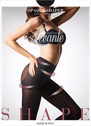 Levante Opaque Shaper Control Top Tights
