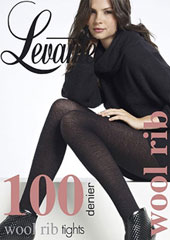 Levante Wool Rib Tights