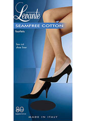 Levante Seamfree Cotton Footlets