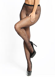 Miss O Fishnet Open Crotch Tights