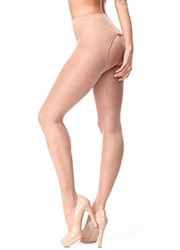 Miss O Sheer Open Tights With Decorative Brief Zoom 2