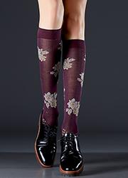 Max Mara Falco Knee High Socks Zoom 2