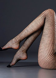 Max Mara Calais Fishnet Tights Zoom 2