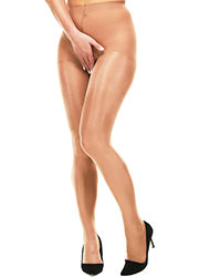 Miss Naughty Metallic Shine Crotchless Tights Zoom 3