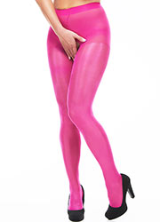 Miss Naughty Metallic Shine Crotchless Tights Zoom 1