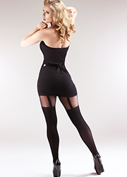 Miss Naughty Suspender Tights Zoom 3