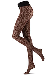 Oroblu Abstract Bicolor Leopard Tights