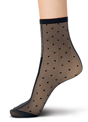 Oroblu Abstract Embellished Silver Line Socks Zoom 3