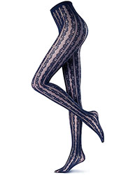 Oroblu Abstract Flounce Tights Zoom 3