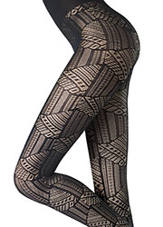 Oroblu Abstract Mistery Tights Zoom 2