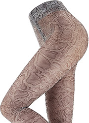 Oroblu Abstract Snake Print Tights Zoom 2