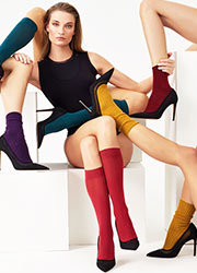 Oroblu All Colours Cotton Knee Highs Zoom 2