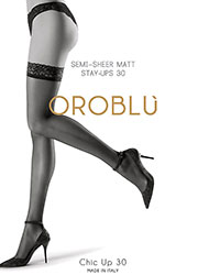 Oroblu Chic Up 30 Hold Ups Zoom 1