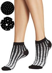 Oroblu Contrast Socks 3 Pair pack