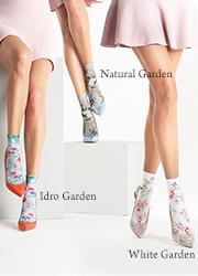 Oroblu Cristelle Floral Socks Zoom 4