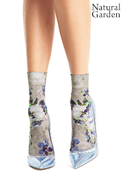 Oroblu Cristelle Floral Socks Zoom 3