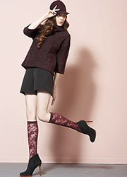 Oroblu Estelle Knee Highs Zoom 2