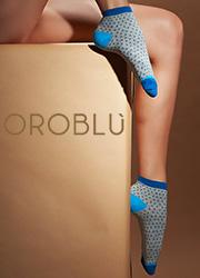 Oroblu Fine Cotton Joyful Socks 3 Pair Pack Zoom 4