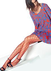 Oroblu Fishnet Knot Fashion Tights Zoom 3