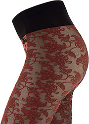 Oroblu Flower Bicolor Lace Tights Zoom 3