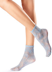 Oroblu Flower Dalia Socks