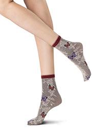 Oroblu Flower Fairyland Socks Zoom 2