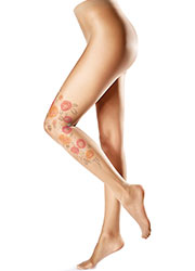 Oroblu Flower Peony Tights Zoom 1