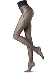Oroblu Graphic Cross Tights