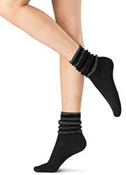 Oroblu Graphic Velour Socks Zoom 3