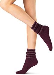 Oroblu Graphic Velour Socks Zoom 1