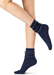Oroblu Graphic Velour Socks Zoom 2