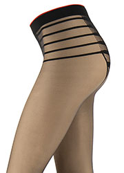 Oroblu Icon Seduction Fire Tights Zoom 2