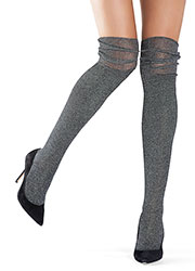 Oroblu Lux Over The Knee Socks Zoom 1