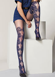 Oroblu Miriana Lace Effect Tights Zoom 4