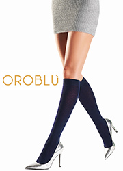 Oroblu Cynthia Natural Fibres Knee Highs
