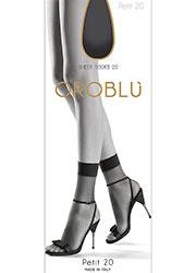 Oroblu Petit 20 Sheer Anklet Zoom 1