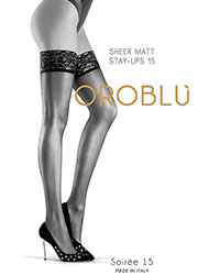 Oroblu Soiree 15 Hold Ups Zoom 1
