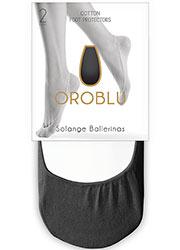 Oroblu Solange Ballerinas Footlets 2 Pair Pack Zoom 4