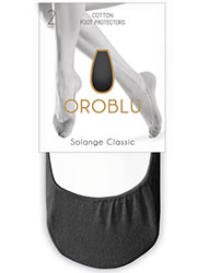 Oroblu Solange Classic Footlets 2 Pair Pack Zoom 3