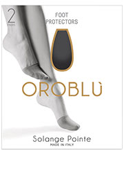 Oroblu Solange Pointe Toe Covers 2 Pair Pack Zoom 2