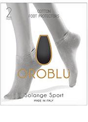 Oroblu Solange Sport Foot Protector 2 Pair Pack Zoom 4