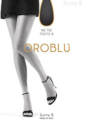 Oroblu Sunny 8 No Toe Tights