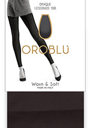 Oroblu Warm And Soft Footless Tights Zoom 1