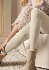 Oroblu Viktoria Wool and Cotton Plain Tights Zoom 2