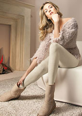Oroblu Viktoria Wool and Cotton Plain Tights Zoom 1