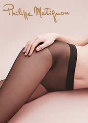 Philippe Matignon Nudite Cristal D'Or 30 Denier Seamless Tights